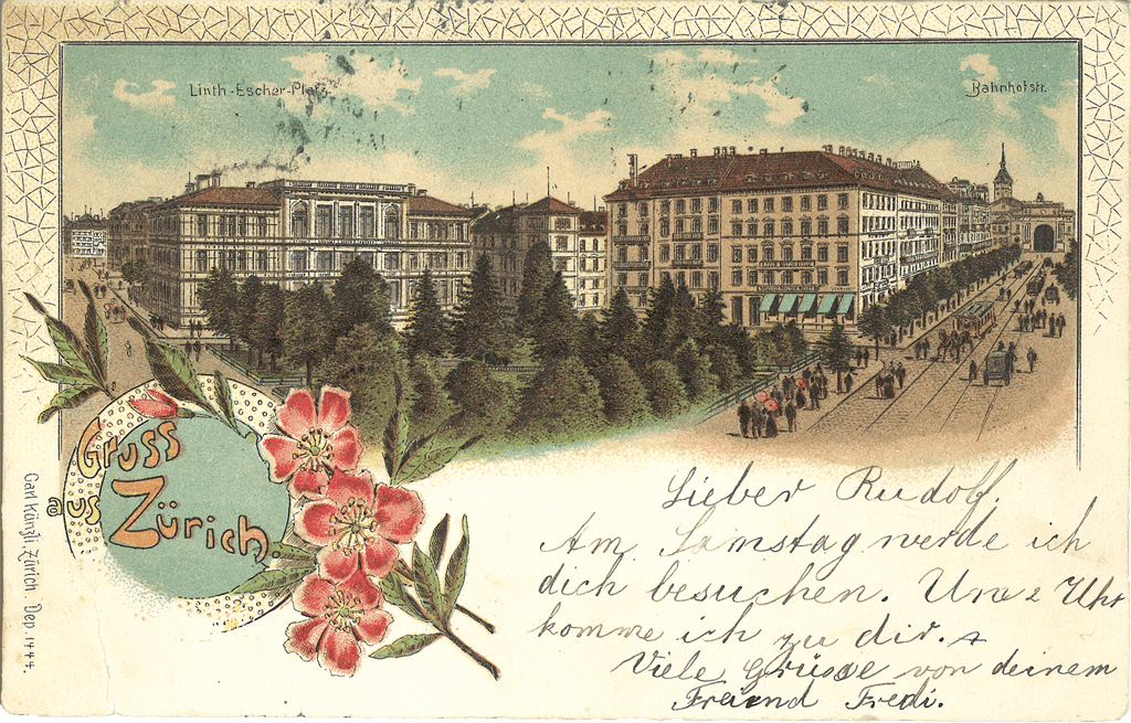 1899 Linth Escher Platz AV