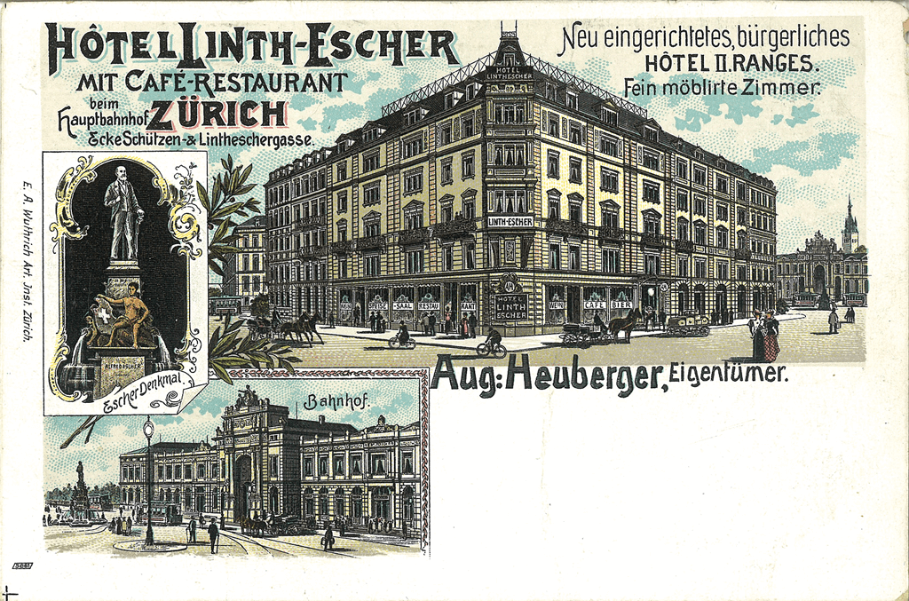 1900 Hotel Linth Escher AV
